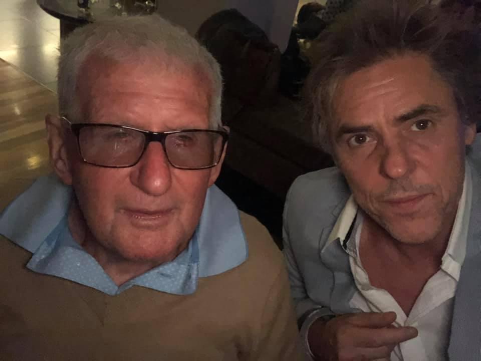 Selfie with Bertie Kidd at Launceston show - December 2020